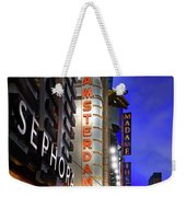 New Amsterdam Theatre Weekender Tote Bag