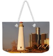 New And The Old Weekender Tote Bag by Michael Peychich