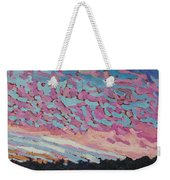 New Beginning Sunrise Weekender Tote Bag