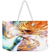 New Beginnings Abstract  Weekender Tote Bag