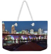 New Bridge Pano Weekender Tote Bag