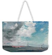 New Brighton From The Mersey Weekender Tote Bag