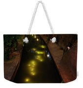 New Canal In Utrecht In The Evening 7 Weekender Tote Bag