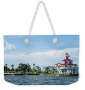 New Canal Lighthouse And Lakefront - Nola Weekender Tote Bag