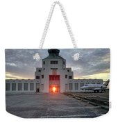New Dawn For An Old Airport Weekender Tote Bag
