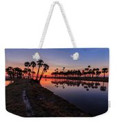 New Day At Econ River Weekender Tote Bag