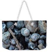New England Beach Shells Weekender Tote Bag