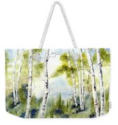 New England Birches Weekender Tote Bag