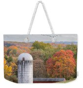 New England Fly Over Square Weekender Tote Bag