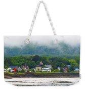 Granville Ferry Nova Scotia Canada  Fog Lifting Weekender Tote Bag