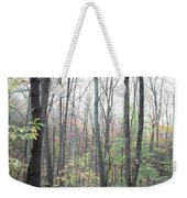 New England Forest Weekender Tote Bag