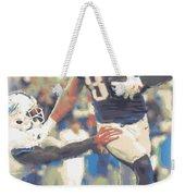 New England Patriots Rob Gronkowski 3 Weekender Tote Bag