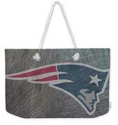 New England Patriots Translucent Steel Weekender Tote Bag