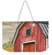 New England Red Barn Pencil Weekender Tote Bag