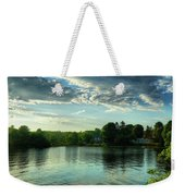 New England Scenery Weekender Tote Bag