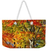 New England Sugar Maples Weekender Tote Bag