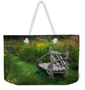 New England Summer Rustic Weekender Tote Bag