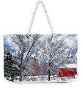 New England Winter Weekender Tote Bag