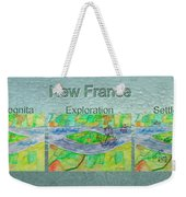 New France Mug Shot Weekender Tote Bag