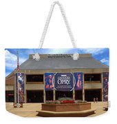 New Grand Ole Opry House Weekender Tote Bag