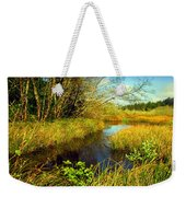 New Growth At The Pond Weekender Tote Bag