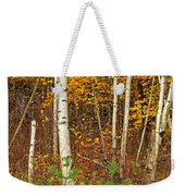 New Growth Old Leaves Weekender Tote Bag