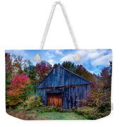 New Hampshire Barn Eaton Nh Weekender Tote Bag