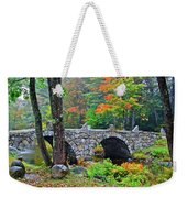 New Hampshire Bridge Weekender Tote Bag
