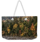 New Hampshire Color Along The Swift River Weekender Tote Bag