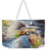 New Hampshire Creek In Fall Weekender Tote Bag