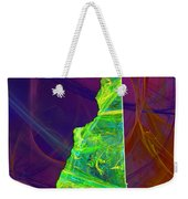 New Hampshire Map Weekender Tote Bag