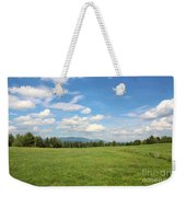New Hampshire Mountain Meadow Weekender Tote Bag