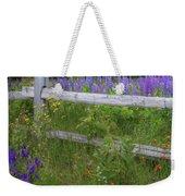 New Hampshire Wildflowers Weekender Tote Bag