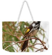 New Holland Honey-eater Weekender Tote Bag