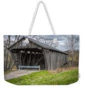New Hope Covered Bridge  Weekender Tote Bag