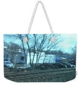 New Jersey From The Train 4 Weekender Tote Bag