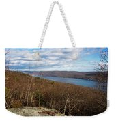 New Jersey Mountaintop View Weekender Tote Bag