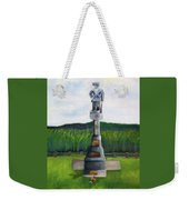 New Jersey Soldier At Monocacy Battlefield In Frederick Md. Weekender Tote Bag