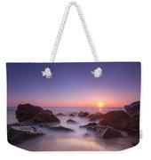 New Jersey Sunrise At Sea Girt Weekender Tote Bag