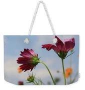 New Jersey Wildflowers In The Wind Weekender Tote Bag