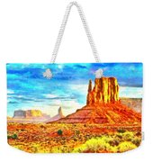 New Mexico Beautiful Desert - Pa Weekender Tote Bag