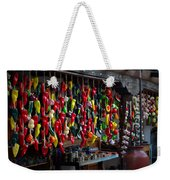 New Mexico Hanging Peppers Weekender Tote Bag