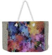 New Mexico Map Color Splatter 5 Weekender Tote Bag