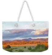 New Mexico Pastel Weekender Tote Bag
