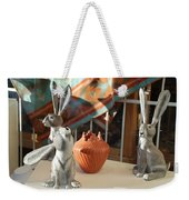 New Mexico Rabbits Weekender Tote Bag
