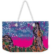 New Mexico Twilight Weekender Tote Bag