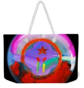 New Morning Weekender Tote Bag