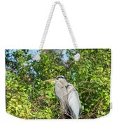 New Nest For Great Blue Heron Weekender Tote Bag