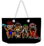 New No Evil Monkeys Weekender Tote Bag