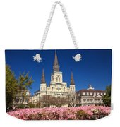 Jackson Square New Orleans Weekender Tote Bag